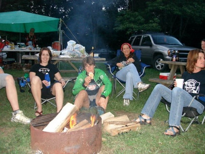 The Midwest Women's Mountain Bike Clinic is an entire weekend of camping, mountain biking, fun and friends.