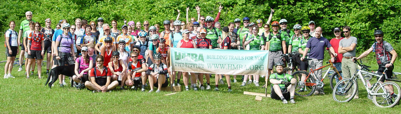 The Midwest Women's Mountain Bike Clinic ~ Brown County State Park, Nashville, Indiana<br /> 2009 Group Photo<br /> <br /> See how far we've come...