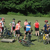 The Midwest Women's Mountain Bike Clinic is for anyone from the first time mountain biker to the experienced rider.  Riders are split into groups according to their skill level.